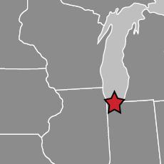 Bynum Transport Gary Indiana Map
